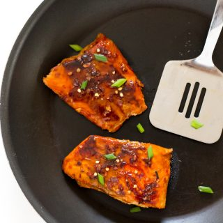 20 Minute Firecracker Salmon