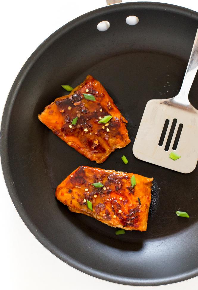 Firecracker Salmon | chefsavvy.com