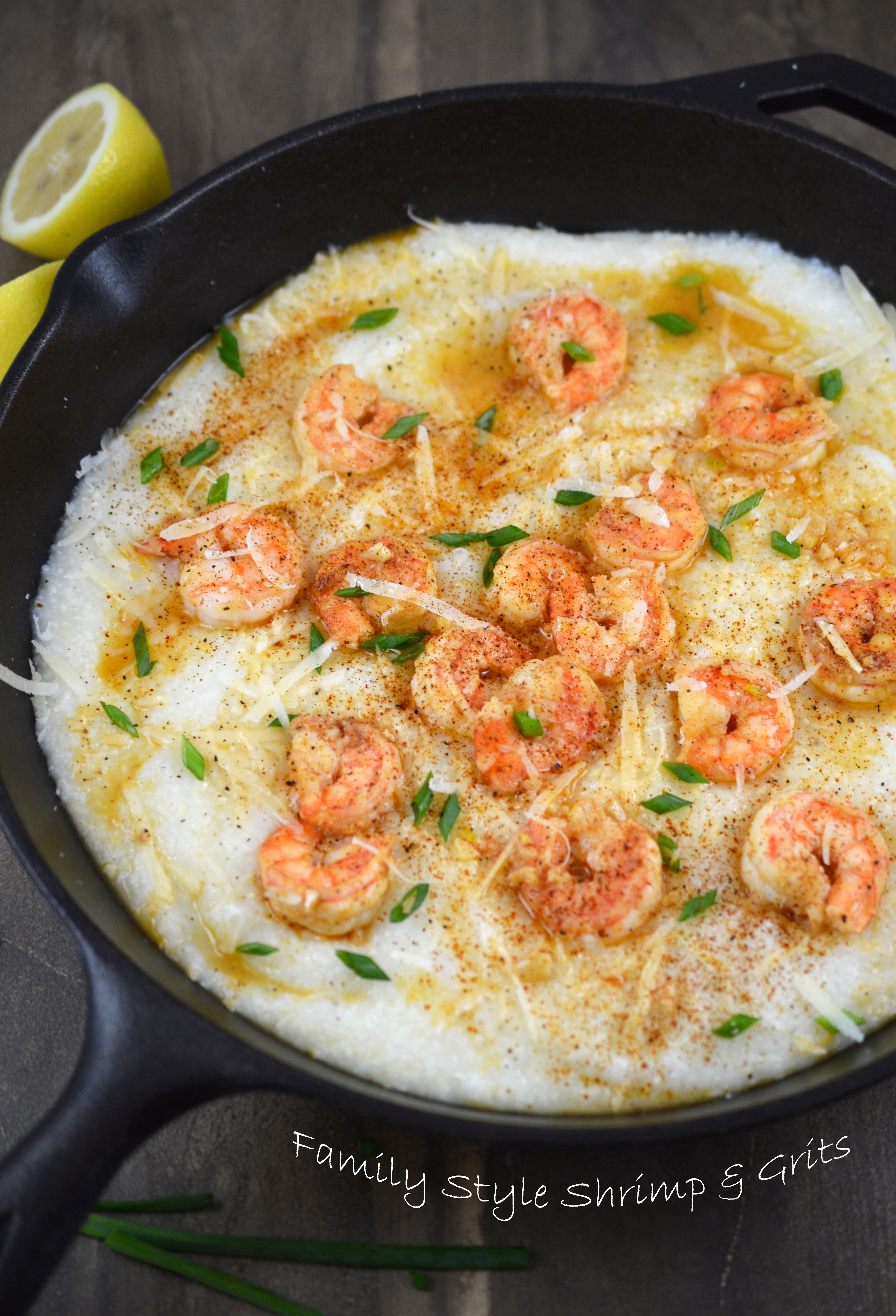 Creamy shrimp grits chef savvy shrimp and grits making forumfinder Choice Image
