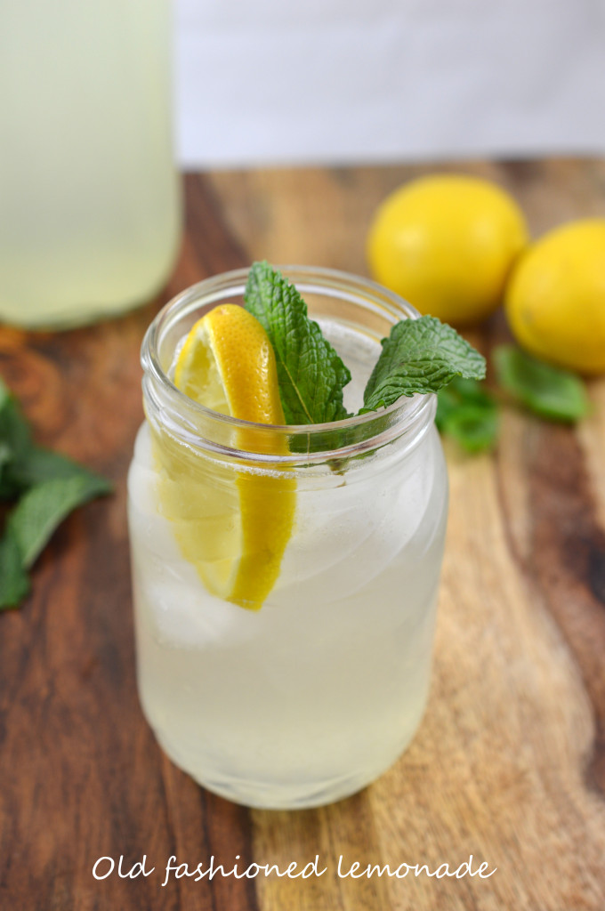 Old Fashioned Lemonade | Refreshing Homemade Lemonade Recipes | Homemade Recipes