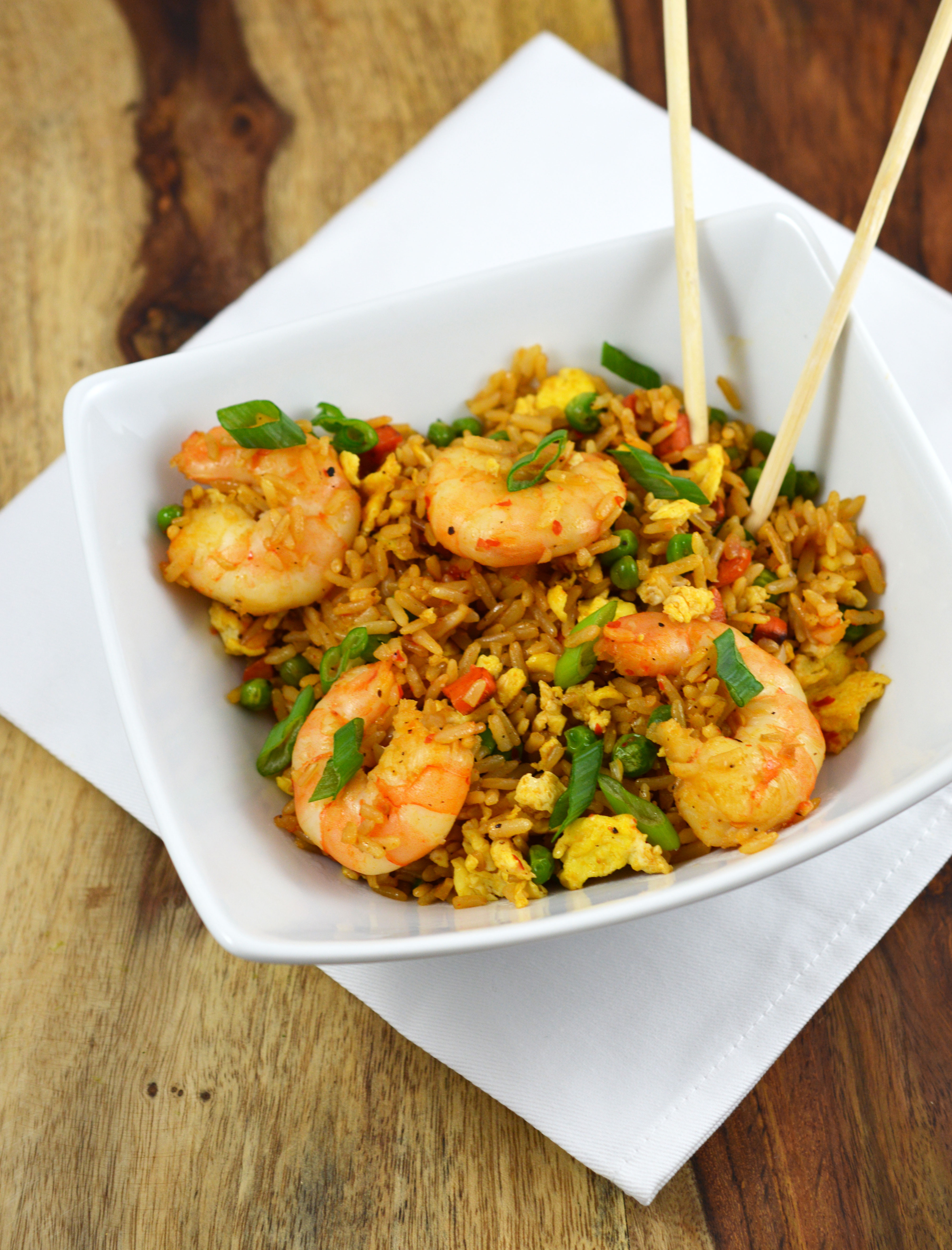 Shrimp Fried Rice By Chefsavvy Com