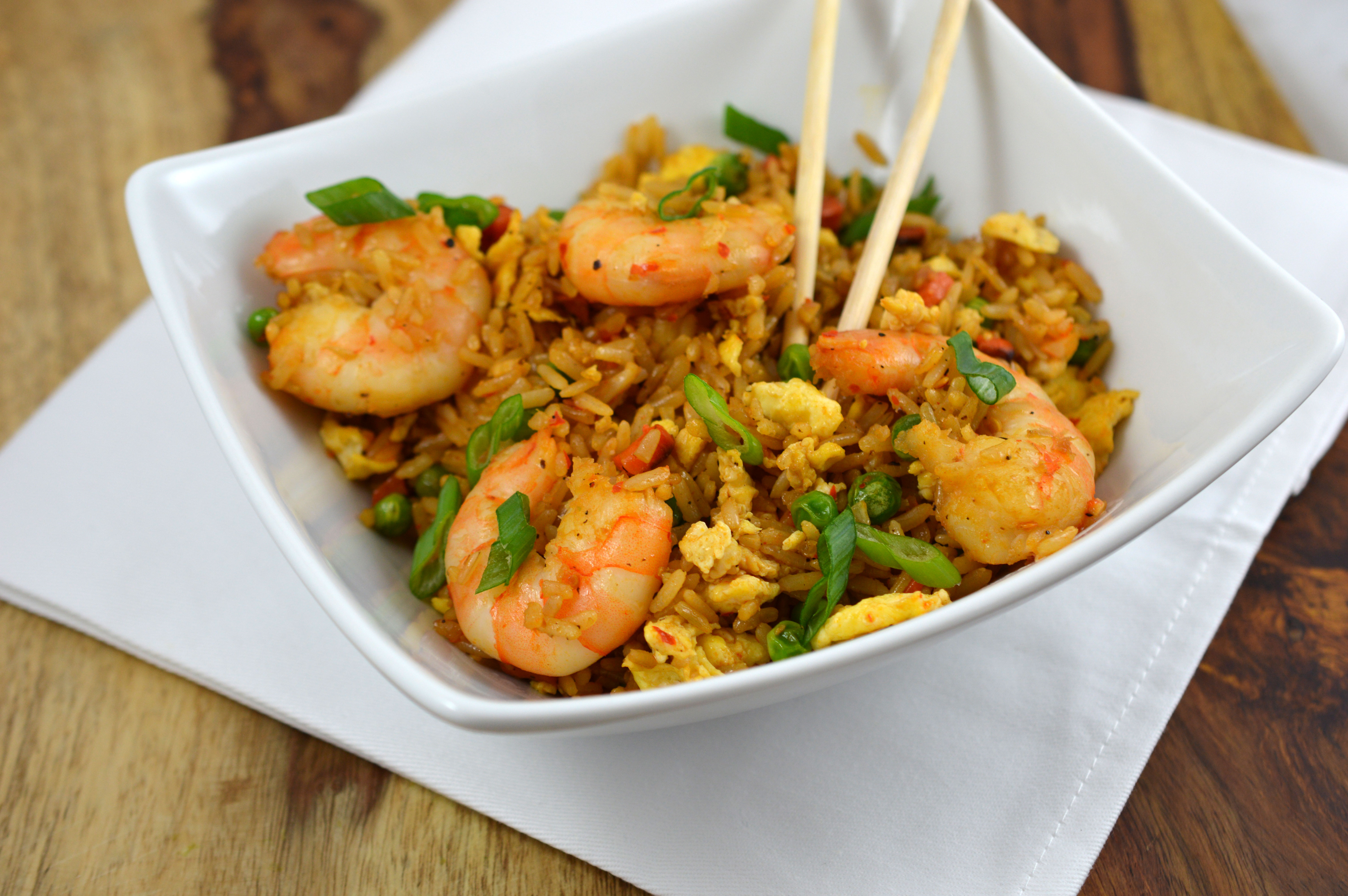 shrimp fried rice by