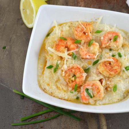 Creamy Shrimp & Grits