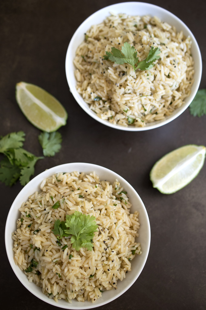 Cilantro and Lime Brown Rice