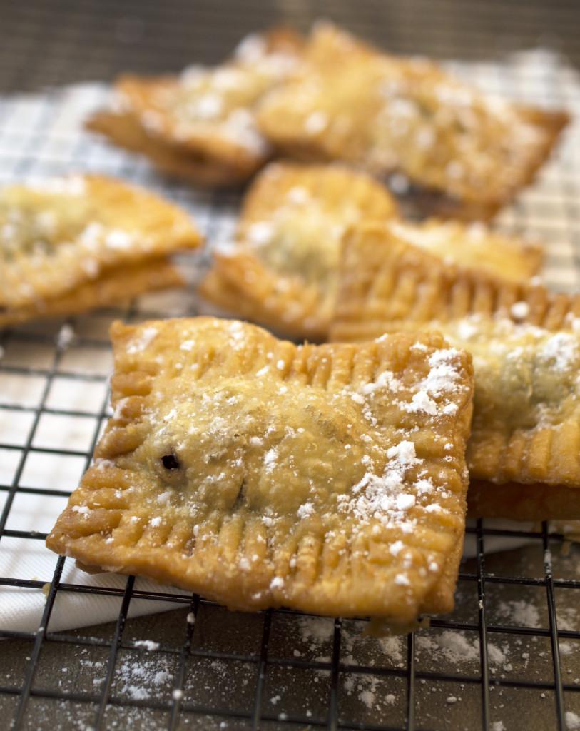 Deep Fried Blueberry Pie