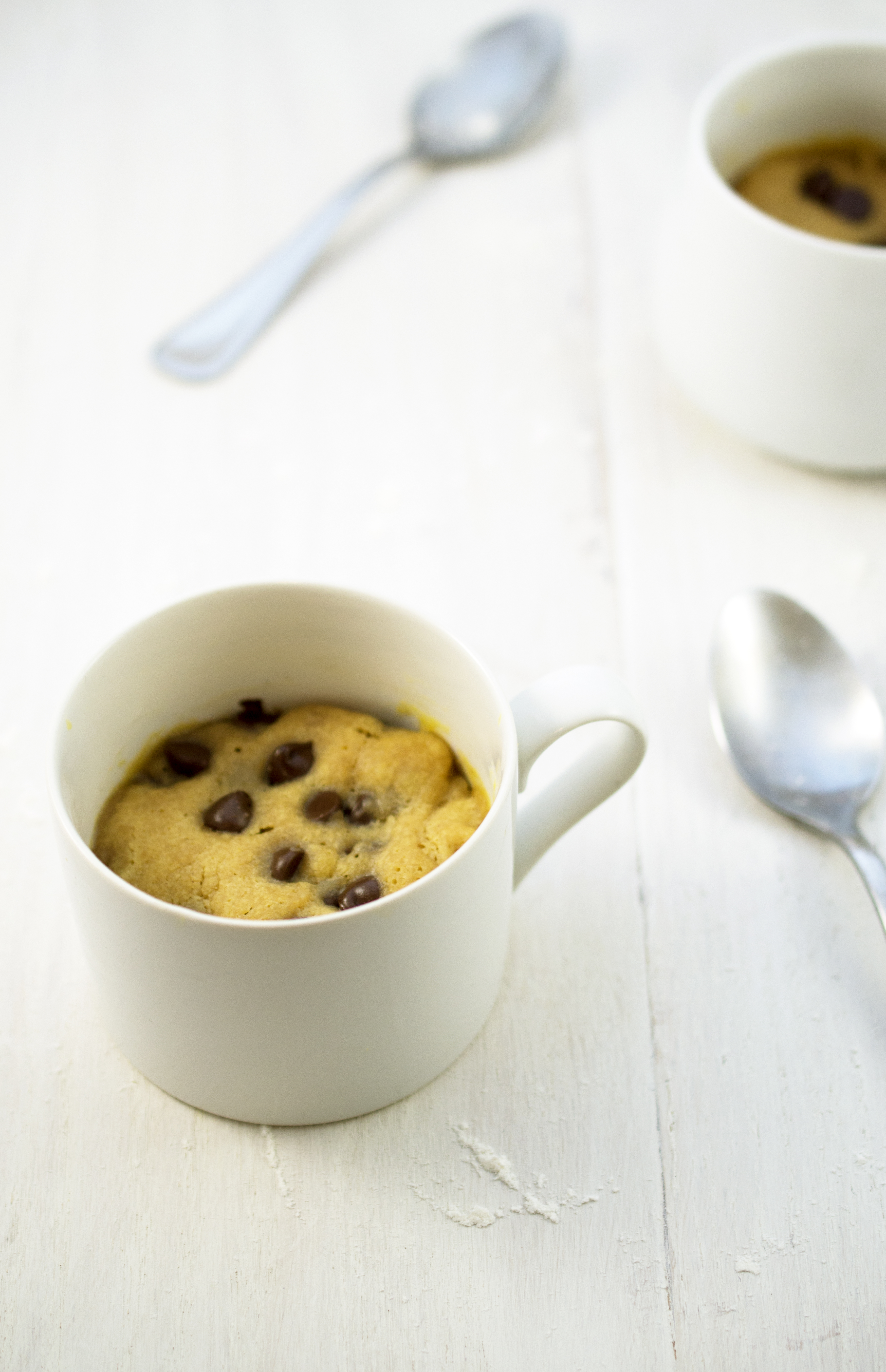 Peanut Butter and Chocolate Chip Mug Cookie