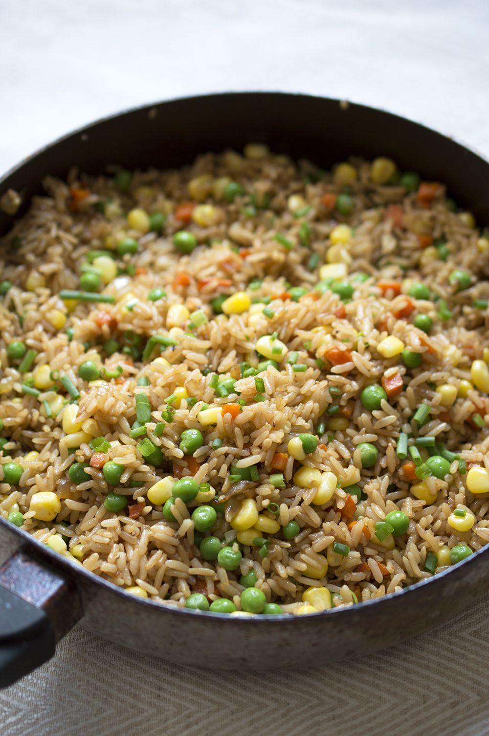 This is not your typical vegetable fried rice. This fried rice is ...
