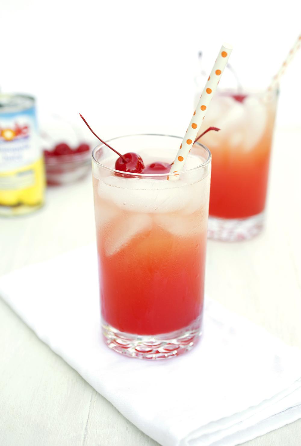Cherry Bomb Cocktail.