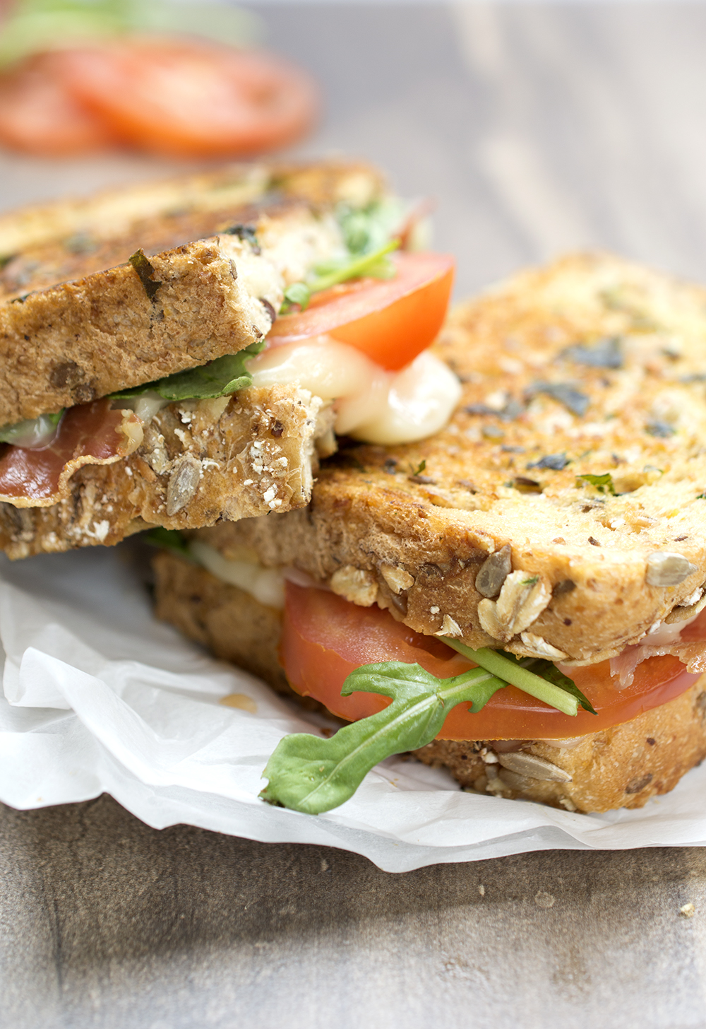 Italian BLT Grilled Cheeese