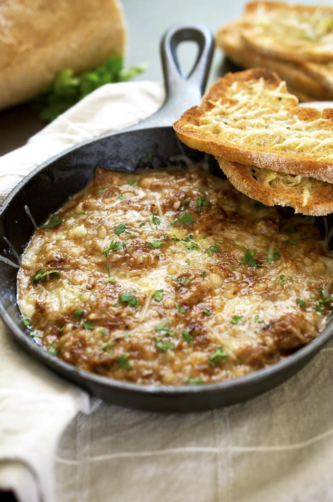 Warm French Onion Dip