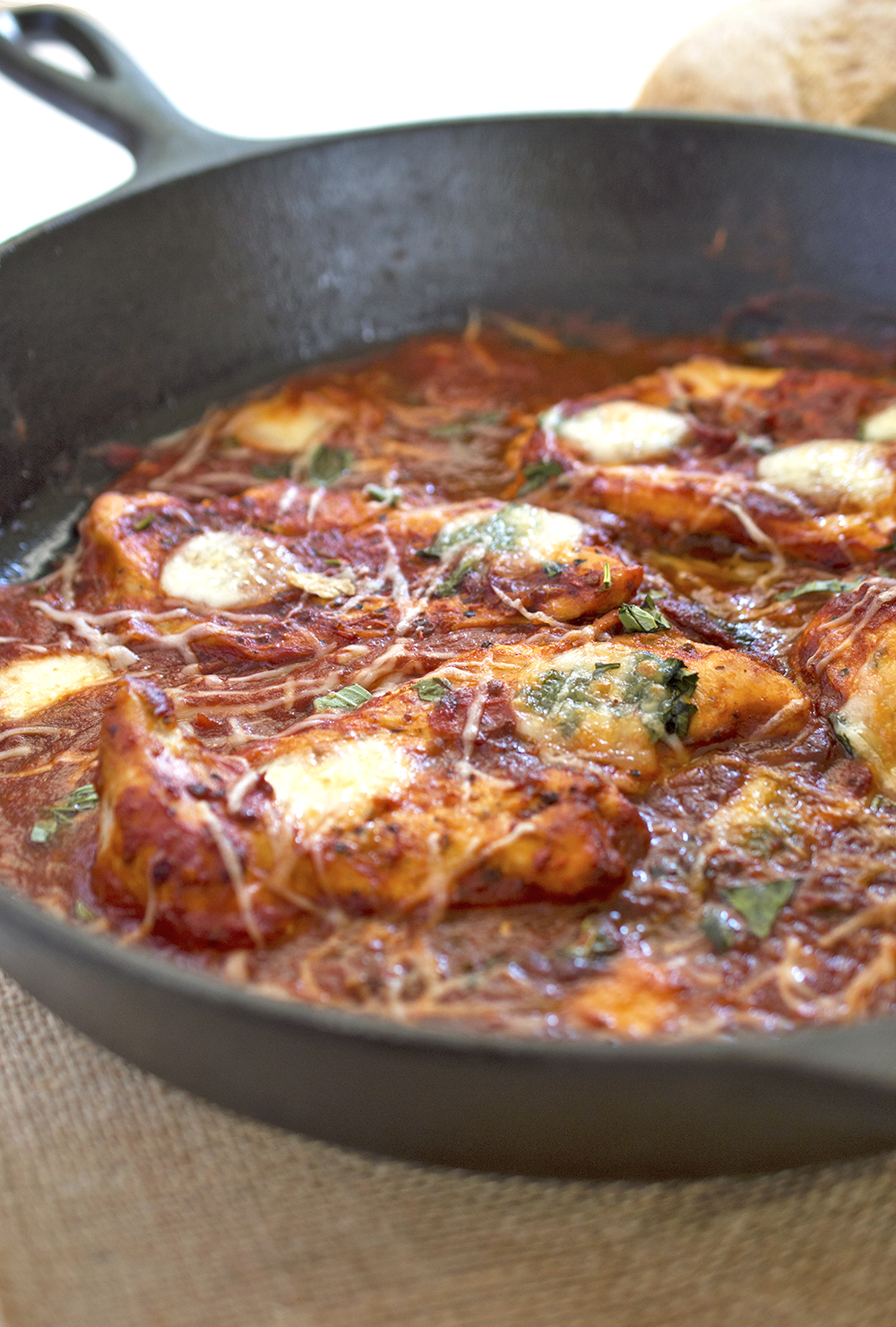 Easy One Pan Italian Chicken Skillet 15 Minute Meal
