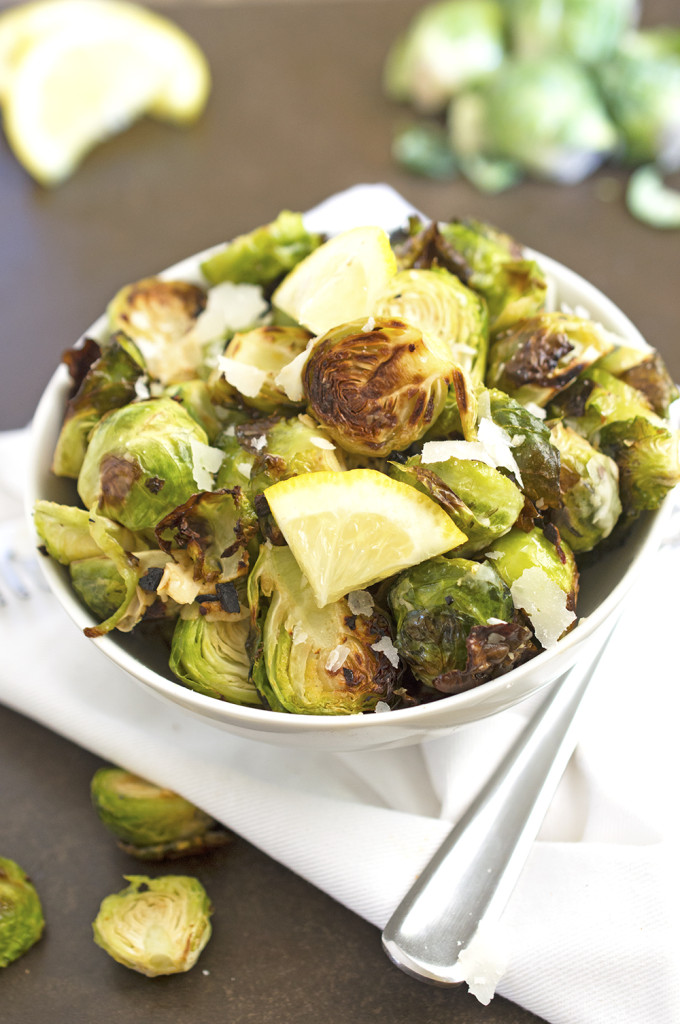 Brussel Sprout Recipes Roasted Cheese