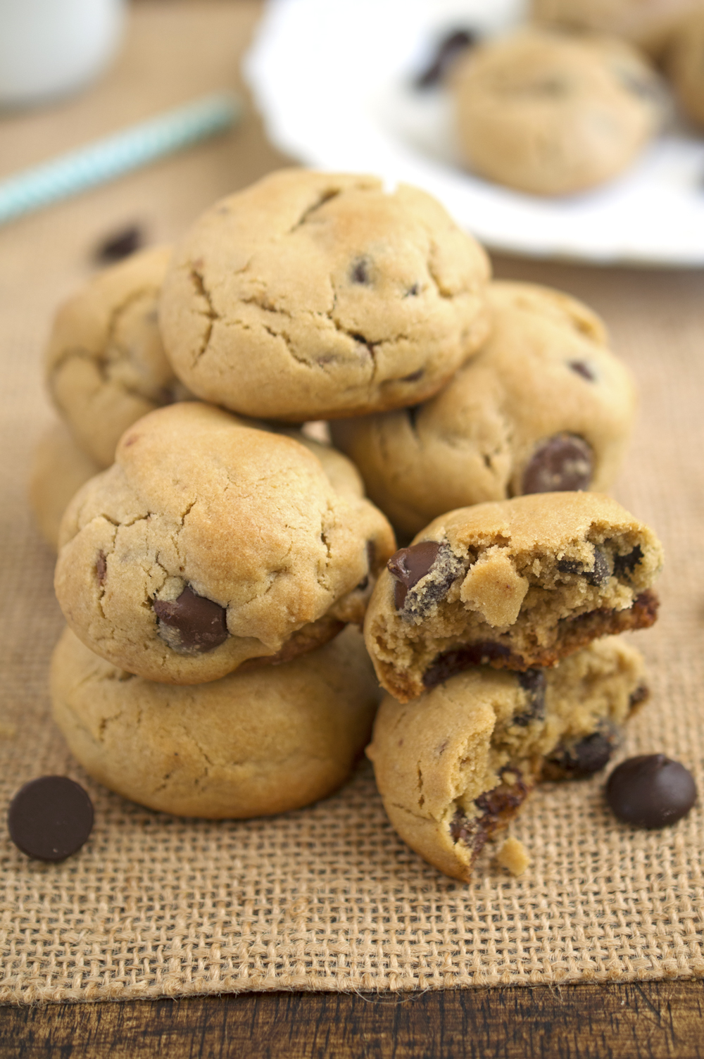 Peanut Butter Reeses And Chocolate Chip Cookies