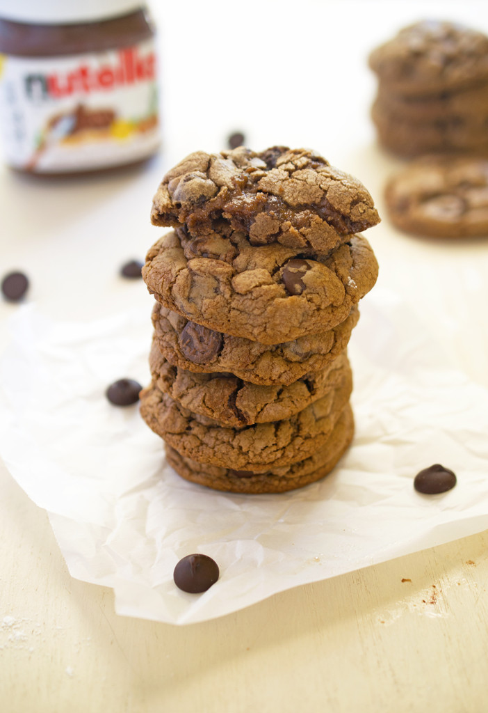 Nutella Chocolate Cookies Recipe
