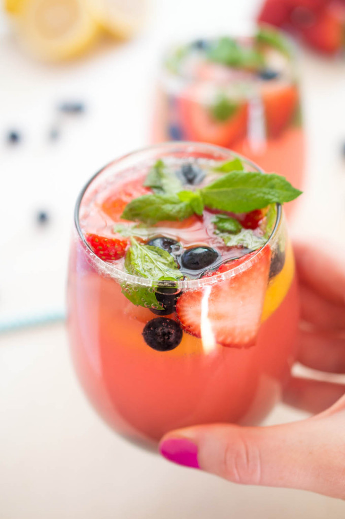 Spiked Berry Lemonade recipe