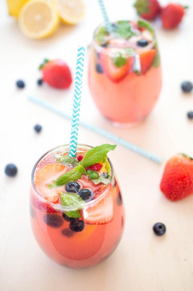 alcoholic berry lemonade recipe
