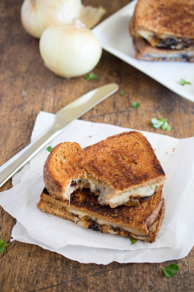 French Onion Grilled Cheese Recipe