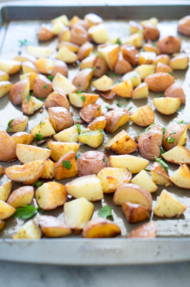 Roasted Garlic Potatoes