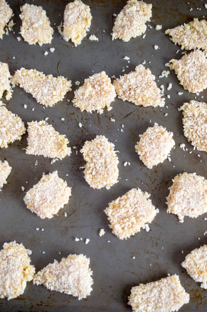 Baked Crispy Asian Chicken Bites