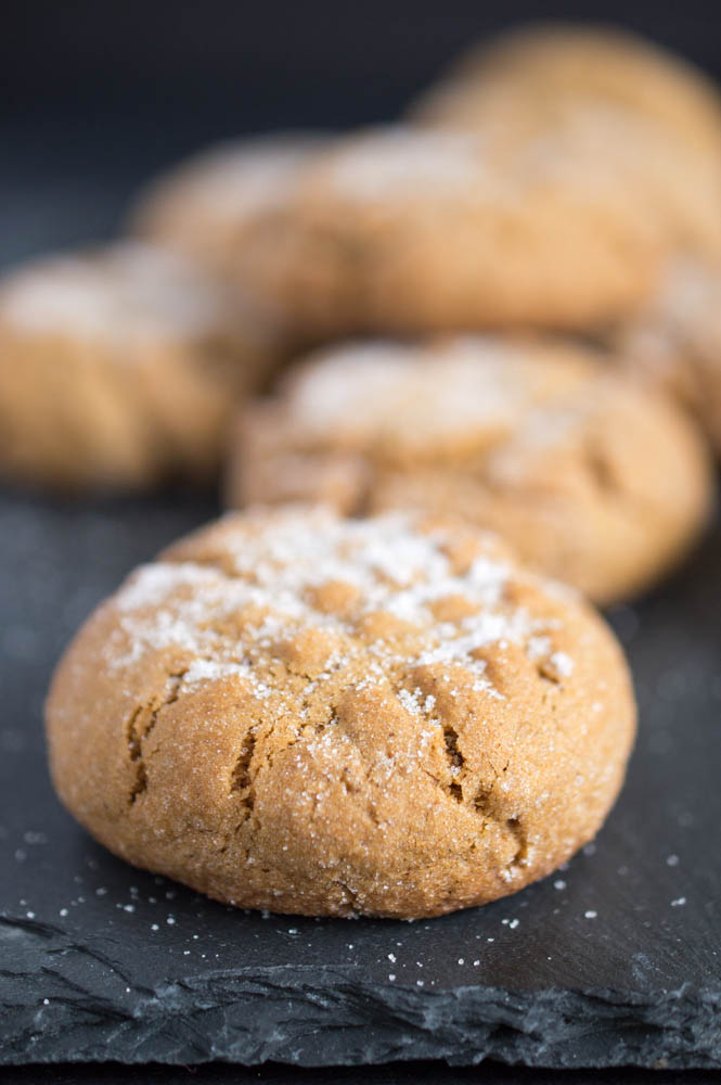 Chewy Ginger Sugar Cookies Recipe