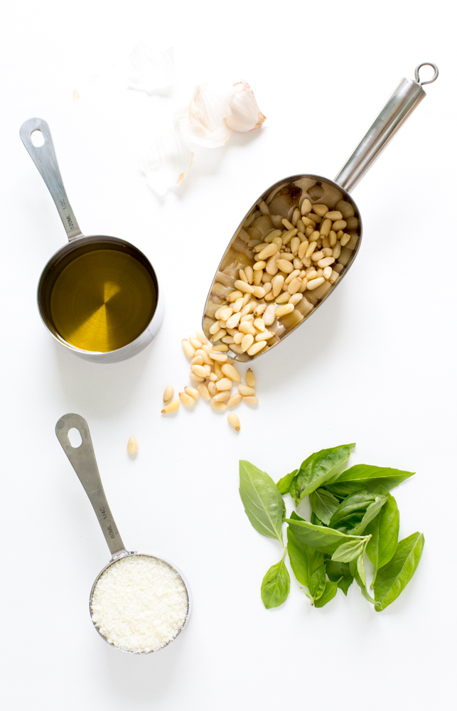 5 Ingredient Homemade Pesto