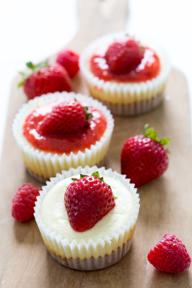Amazing Mini Cheesecake Cupcakes