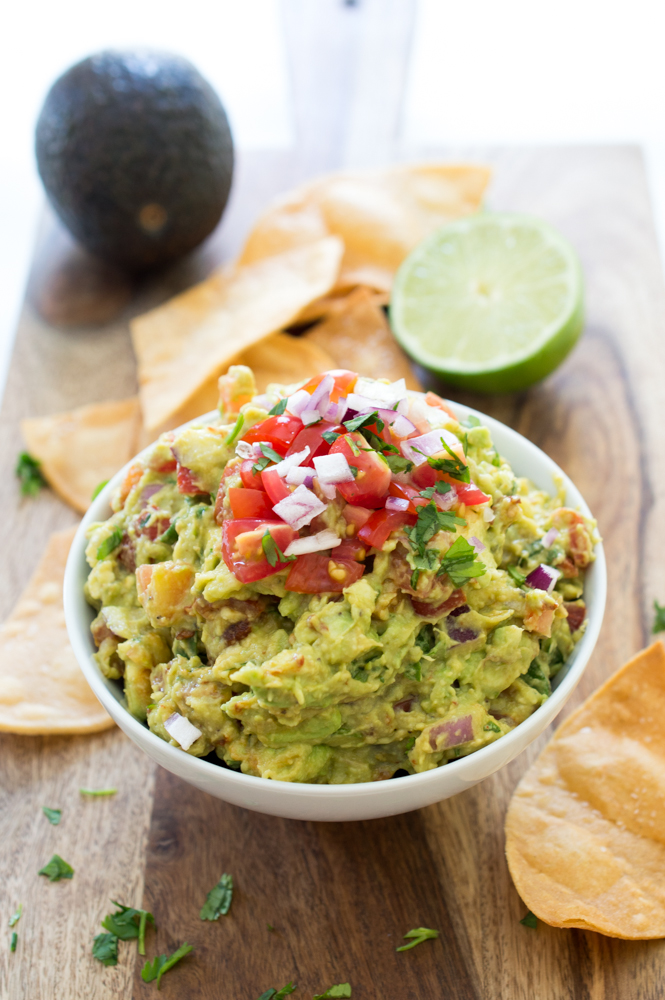 Spicy Chipotle Guacamole | chefsavvy.com #recipe #appetizer #spicy #chipotle #guacamole