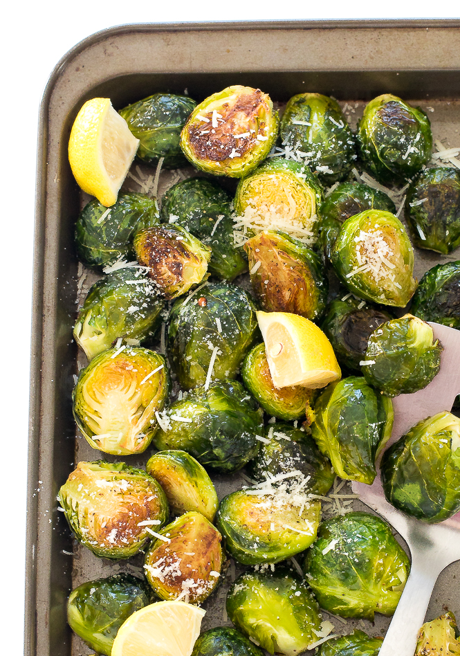 Easy Roasted Garlic Brussels Sprouts Chef Savvy