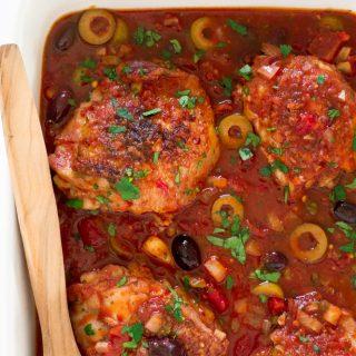 chicken-puttanesca