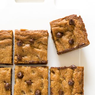 Browned Butter Chocolate Chip Blondies
