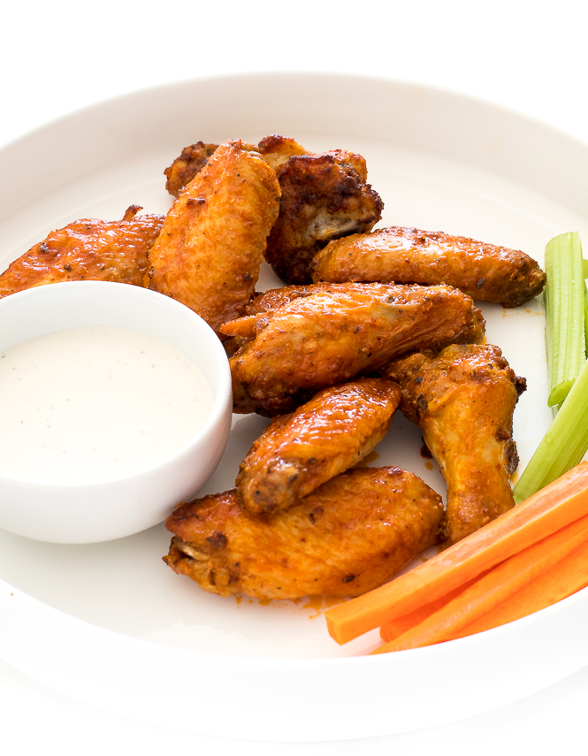 Crispy Air Fryer Chicken Wings | chefsavvy.com