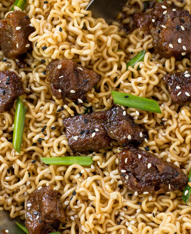 Easy-30-Minute-Mongolian-Beef-Ramen