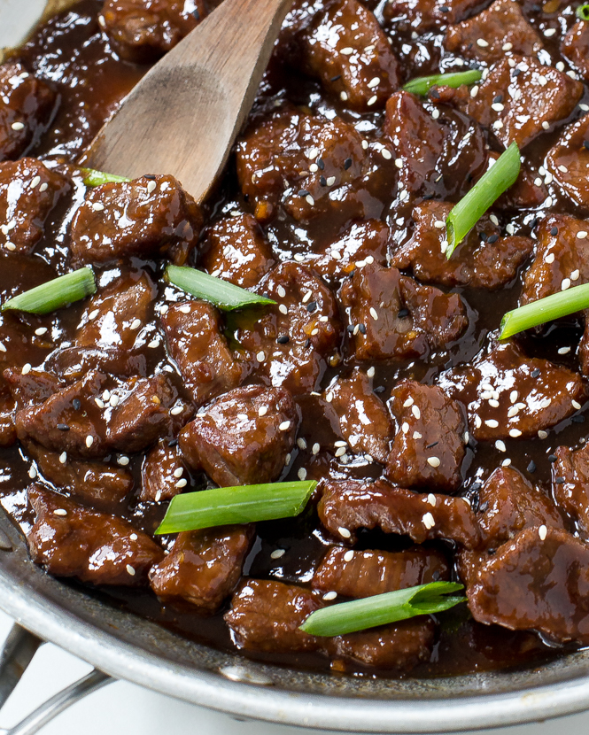 how to cut flank steak for mongolian beef