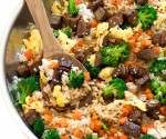 Easy Beef Fried Rice