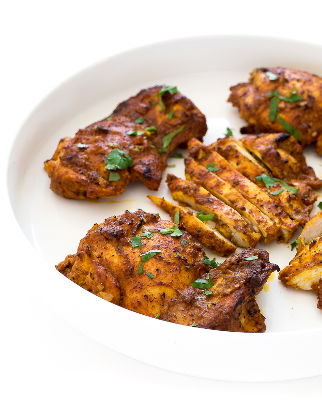 Easy Chicken Shawarma | chefsavvy.com