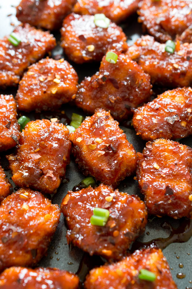 Sweet and spicy baked honey sriracha chicken forumfinder Image collections