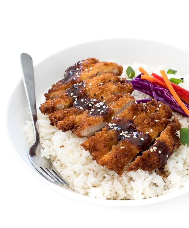 Easy Japanese Chicken Katsu | chefsavvy.com