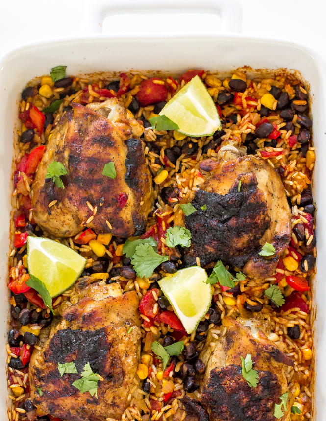 easy-mexican-chicken-rice-bake
