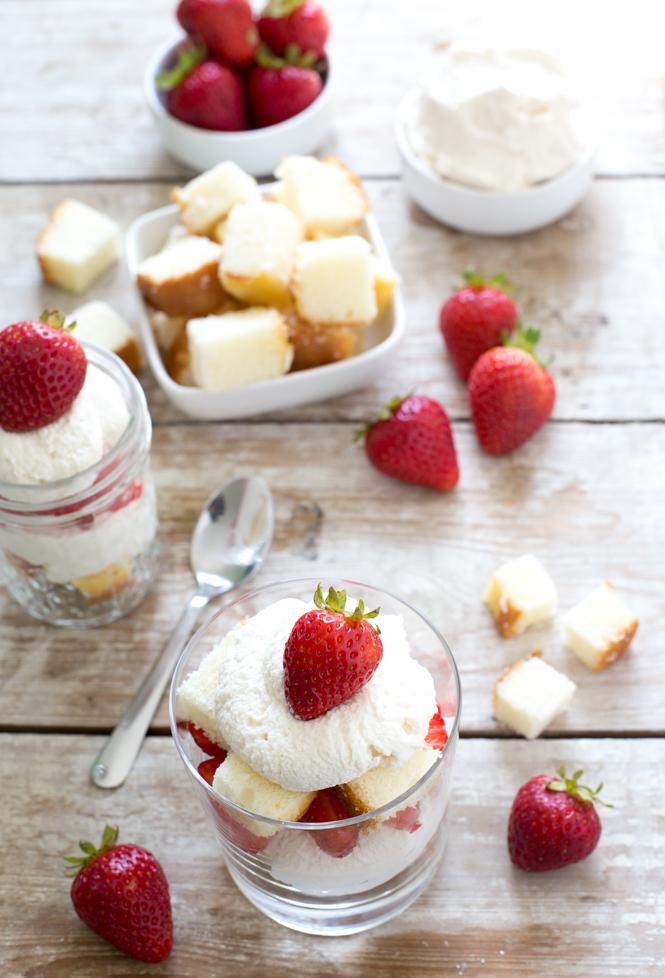 Easy Strawberry Shortcake Trifle