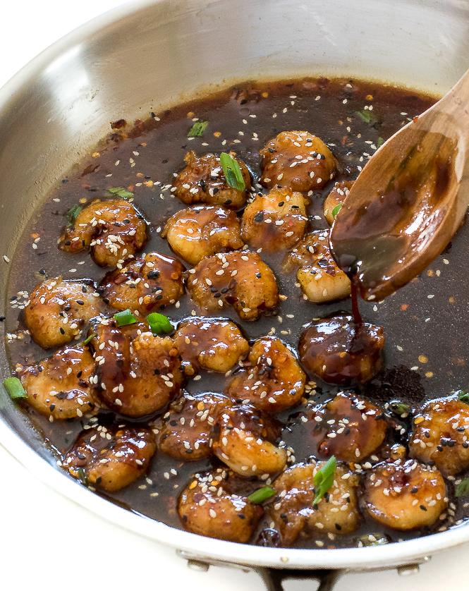 Easy Teriyaki Shrimp | chefsavvy.com