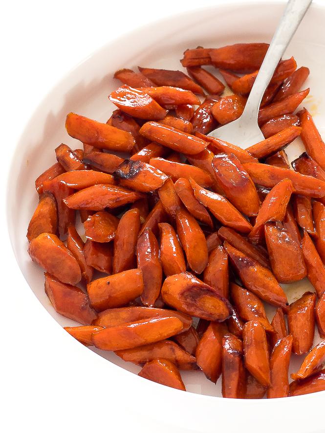 Honey Roasted Carrots | chefsavvy.com