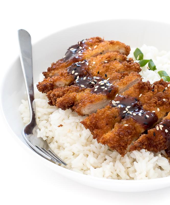 Japanese Chicken Katsu | chefsavvy.com