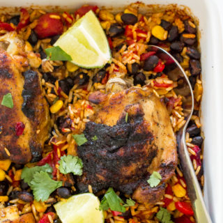 mexican-chicken-rice-bake