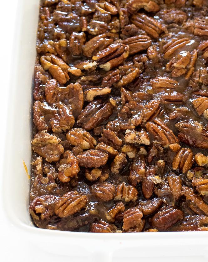 Easy Pecan Pie Bars | chefsavvy.com