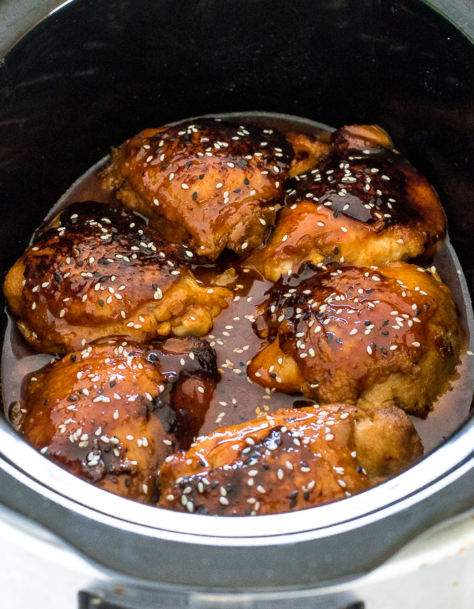 Honey Sriracha Chicken | chefsavvy.com