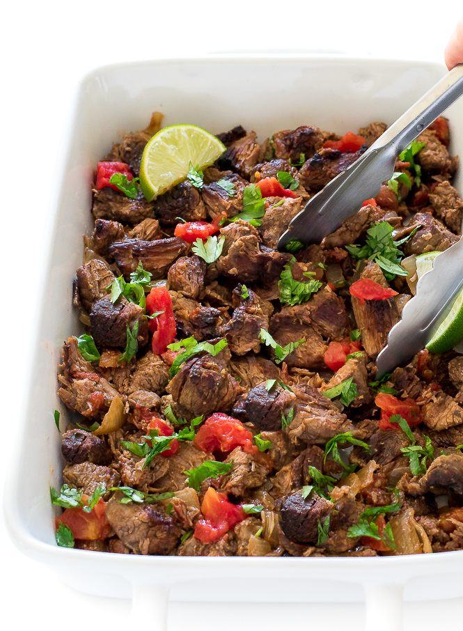 Slow Cooker Mexican Beef | chefsavvy.com