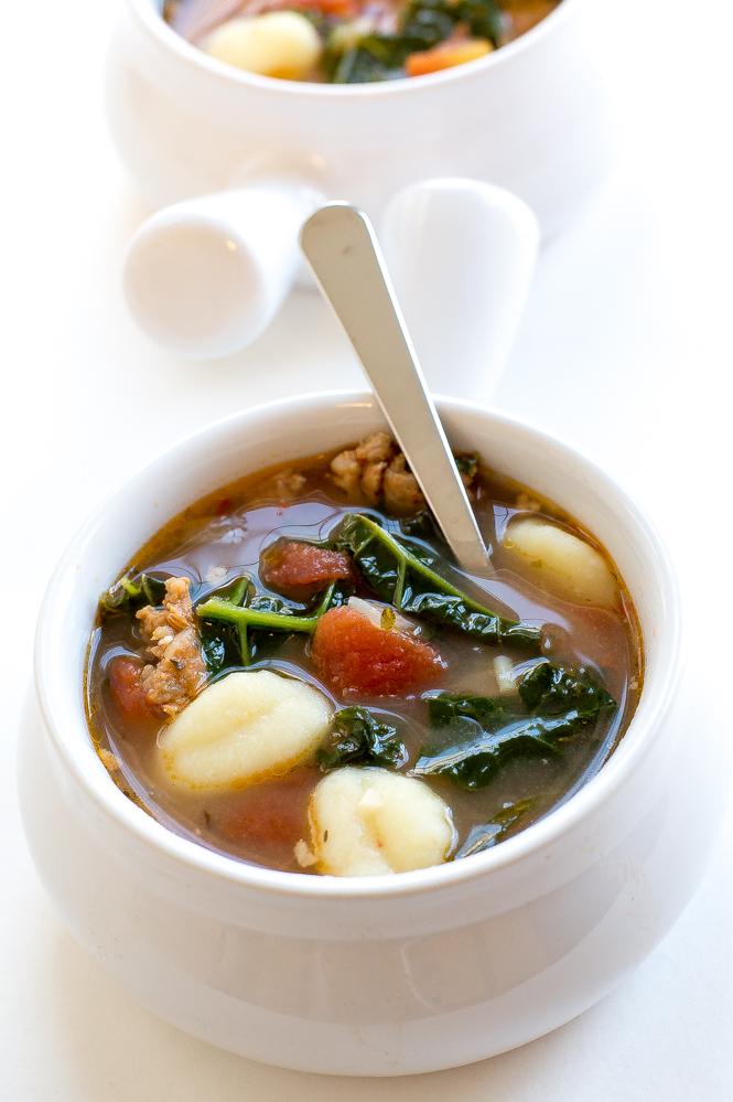 Spinach-Kale-Italian-gnocchi-soup