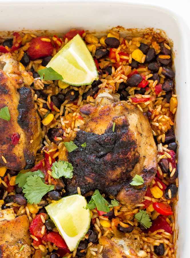 super-easy-mexican-chicken-rice-bake
