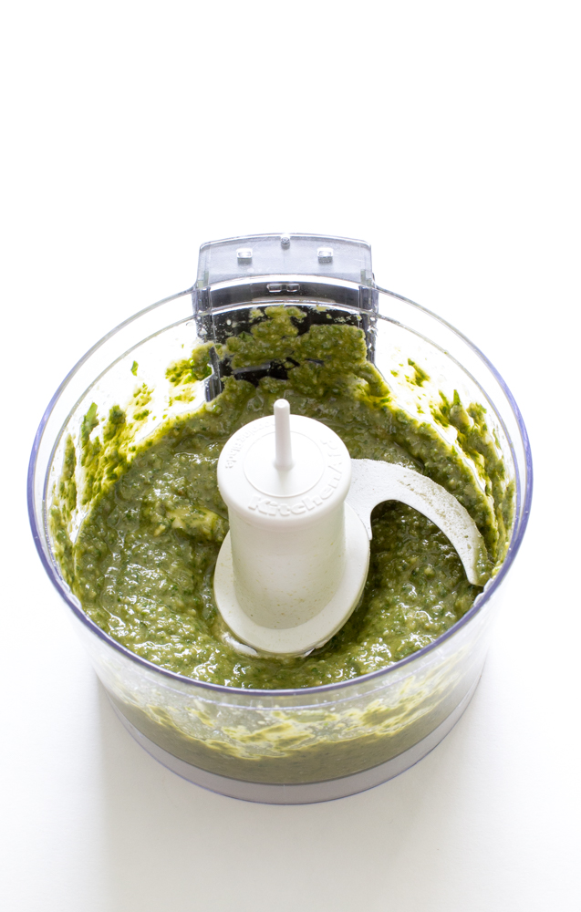 Homemade Pesto | chefsavvy.com
