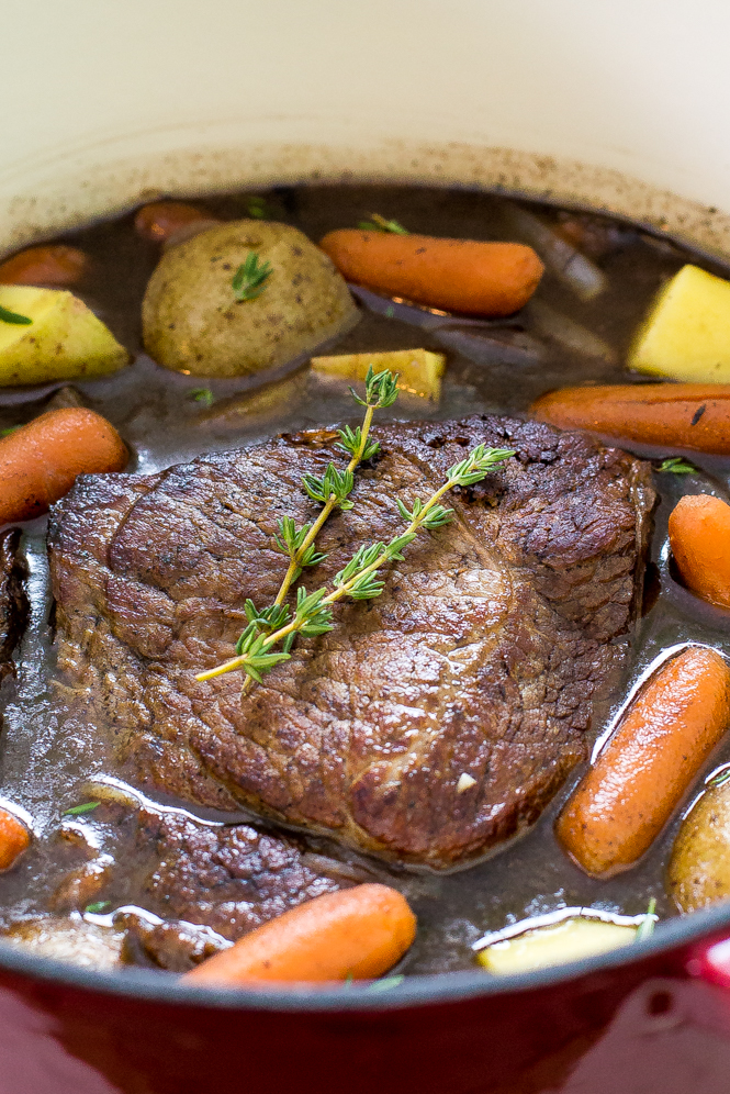 Super Easy Pot Roast | chefsavvy.com